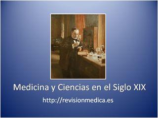 Medicina y Ciencia en el siglo XIX