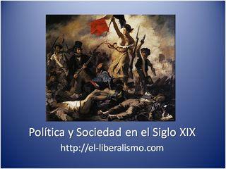 Política y sociedad del siglo XIX