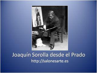 Joaquín Sorolla en el Prado