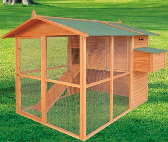 Gallineros prefabricados de madera revista de bricolaje - Casas para gallinas ...
